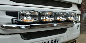 Scania R/G/P Grill Bar with 3 LED's