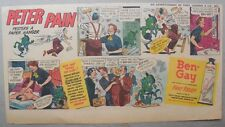 Ben-Gay Ad: Peter Pain: Pesters A Paper Hanger ! 7.5 x 14 inches