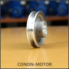 Single-groove Pulley 100mm shaft size 24mm for electric motor