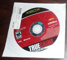 XBOX. True Crime Streets of LA (NTSC USA/CAN)