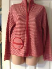 RED AND WHITE  CARDIGAN BY DOROTHY PERKINS, SIZE 14
