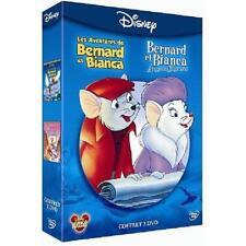 DISNEY Coffret DVD Les aventures de Bernard et Bianca + Au pays des kangourous