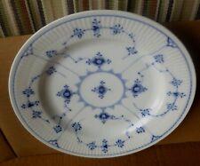 "Royal Copenhagen Large 10"" Fluted Dinner Serving Plate/Dish 1/175 Lot # 11b"