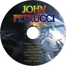 JOHN PETRUCCI GUITAR BACKING TRACKS CD BEST OF GREATEST HITS MUSIC PLAY ALONG MP