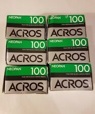 EXPIRED Fujifilm Neopan 100 Acros 135-36 Exp. Black & White Fuji Film for camera