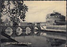 AA5214 Roma - Città - Castel S. Angelo con San Pietro - Cartolina - Postcard