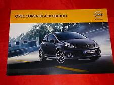 "OPEL Corsa D OPC ""Black Edition"" Sondermodell Prospekt von 2011"