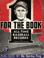 1953 The Sporting News One for the Book, Baseball, magazine