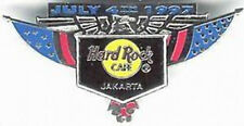 Hard Rock Cafe JAKARTA 1997 July 4th PIN - USA Eagle Flag Shield PIN - HRC #3787