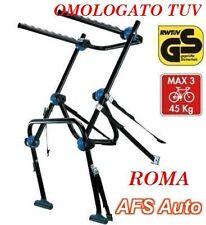 PORTABICI POSTERIORE 3 BICI BMW NUOVA SERIE 5 GRANTURISMO MADE IN ITALY