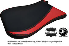 DESIGN 4 BLACK & RED CARBON CUSTOM FITS KAWASAKI ZX6R 98-03 FRONT SEAT COVER