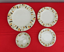 """38-PCS (OR LESS) OF RED WING """"DESERT SUN"""" DINNERWARE/CHINA - CYLINDER SHAPE 1963"""
