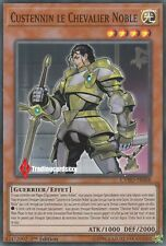 ♦Yu-Gi-Oh!♦ Custennin le Chevalier Noble (Knight) : CYHO-FR088 -VF/Super Rare-