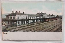 2824 AK Bebra Bahnhof Thüringen PC railway station 1913