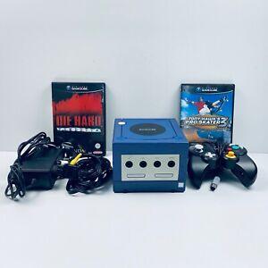 Nintendo GameCube Console Bundle in Box Original Controller Memory Card - Tested