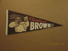AAFC Cleveland Browns Vintage 1940's OTTO GRAHAM Team Logo Football Pennant