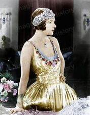 8x10 Print Norma Talmadge The Only Woman 1924 Colorized #NT23