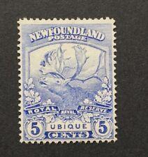 Lot2 Newfoundland Stamp #119  MNH No gum