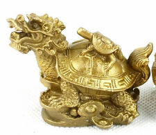 Good Pure brass dragon turtle dominated furnishing articles mascot