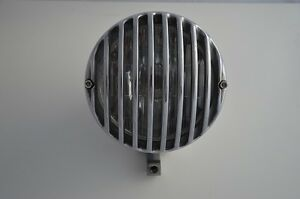 "6.5"" Cast Aluminium Polished Headlight For Motorcycle Motorbike For Custom Build"