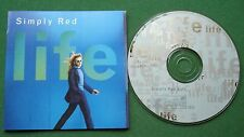 Simply Red Life inc Fairground & Remembering The First Time + CD