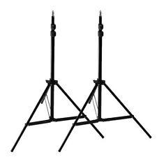 2x7ft Photography Light Stand Tripod for Photo Studio Softbox Boom Lighting Kit