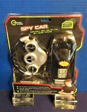 New Spy Car Remote Control 1:25 Scale Midnight Black Audio Surveillance Matrix Z