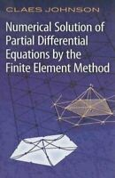 Numerical Solution of Partial Differen... by Johnson, Claes Paperback / softback