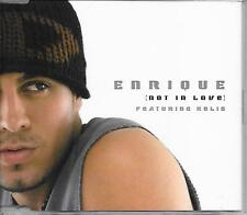 ENRIQUE IGLESIAS ft KELIS - Not in love (AUSTRALIAN RELEASE) CDM 4TR 2004 RARE!