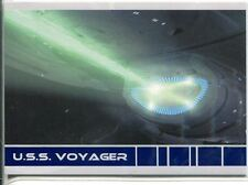 Star Trek Voyager Quotable USS Voyager Chase Card V9