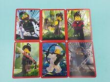 Lego The Ninjago Movie Sticker komplett  alle 6 3D Sticker Neu Bonussticker