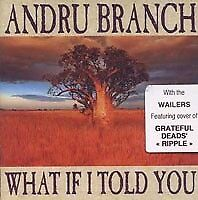 Andru Branch - What if I told you (With the Wailers) CD