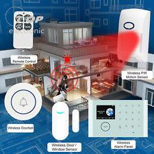 Wireless WiFi+Gsm+Gprs Network Intelligent Home Alarm System Kit Tuya App