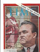 GOV. GEORGE C. WALLACE, SIGNED MAGAZINE COVER / AUTOGRAPH +
