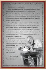 Ernest Hemingway Motivational Quotes Fabic Silk Poster 24inx36in Home Wall Decor