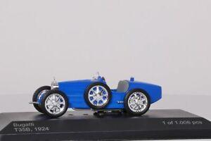 Bugatti T35 1924 blau WhiteBox 1:43 NEU WB045