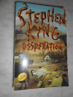 STEPHEN KING DESPERATION 2001 PRIMA EDIZIONE SPERLING PAPERBACK