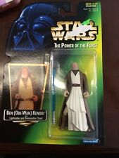 Hasbro Star Wars Power of the Force Ben Kenobi Red Card Action Figure 1997