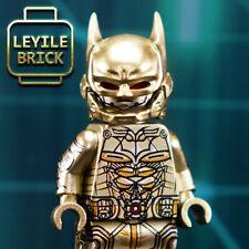 LEYILE BRICK - Custom Golden Batman Lego Minifigure. Limited