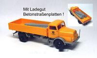 MCZ IFA H 6 Ladegut Betonstraßenplatten VEB BMK Kohle Scale 1 87 NEU OVP
