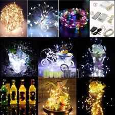 30/50/100 LED String Copper Wire Fairy Light Battery/AC Power Waterproof Lights