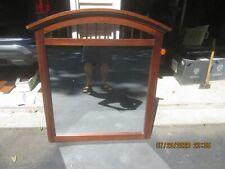 Wood Framed Mirror Furniture Part Dresser Desk Vanity Tabletop, etc.