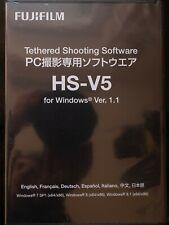 Fujifilm HS-V5 Tethered Shooting Software 1.1