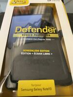 Otterbox Defender Series Case for the Samsung Galaxy Note 10 - Black