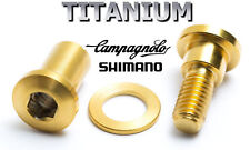 Campagnolo Seatpost Bolt in Titanium 43% lighter! 4 Colors on choice!
