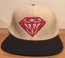 6b2210a44807f4 Diamond Supply Co Brilliant Snapback Hat Cap Skate Tan Brown Beige