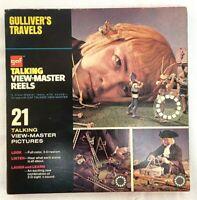 VINTAGE GAF TALKING GULLIVER'S TRAVELS VIEWMASTER REELS AVB 374