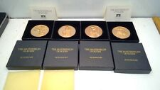 The Masterpieces of Rodin -Franklin Mint/Call to Arms/The Thinker/Mignon/Bronze
