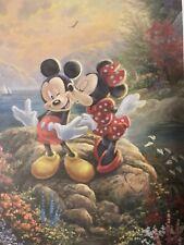 Thomas Kinkade The Disney Dreams Collection Coloring Book (2017, Paperback)