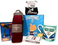 Dadding It Like A Boss Fathers Day Gift Box Father's Birthday Mug Tie Daddy Dad